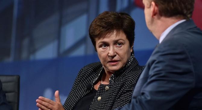 Одобриха Кристалина Георгиева за управляващ директор на МВФ. Вижте първите ѝ думи