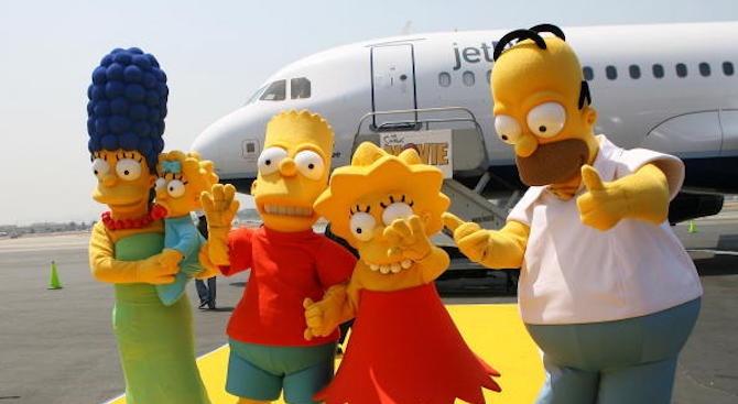"""""""Семейство Симпсън"""" предсказа появата на Грета Тунберг в ООН"""