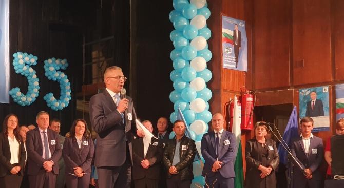 Мустафа Карадайъ: Вярвам в общия ни успех на тези избори, за да гарантираме сигурност и бъдеще на нашите деца в нашата родина