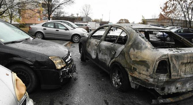 Запалиха колата на разследващ полицай в София