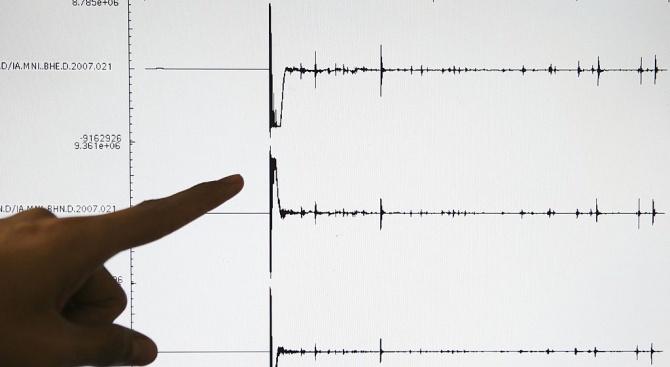 Мощно земетресение край Чили