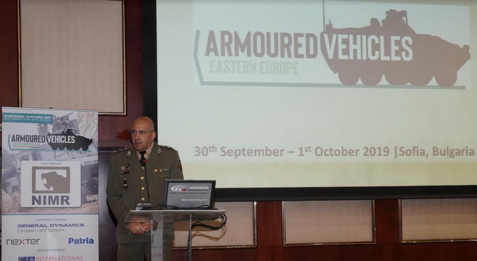 България е домакин на международна конференция за съвременна бронирана техника