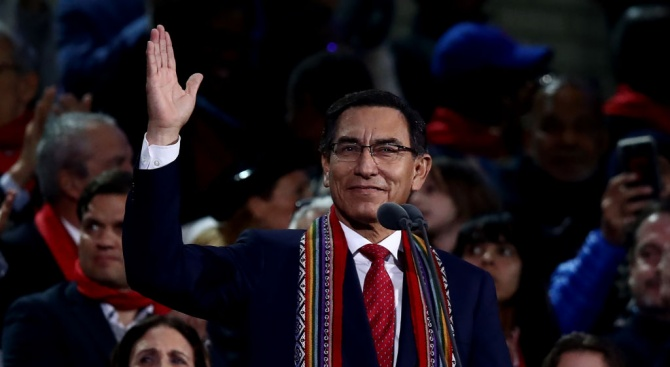 Перуанският парламент гласува за отстраняването от длъжност на президента Мартин Вискара