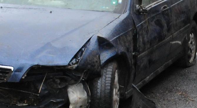Катастрофа с ранени във Велико Търново