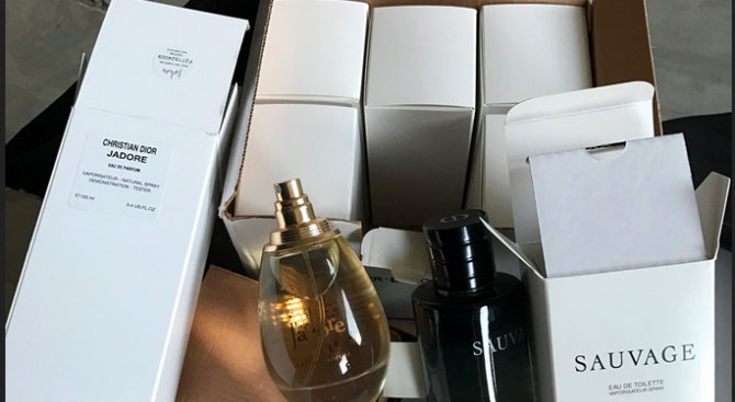 Митничари спипаха контрабандни парфюми и маратонки на МП Калотина