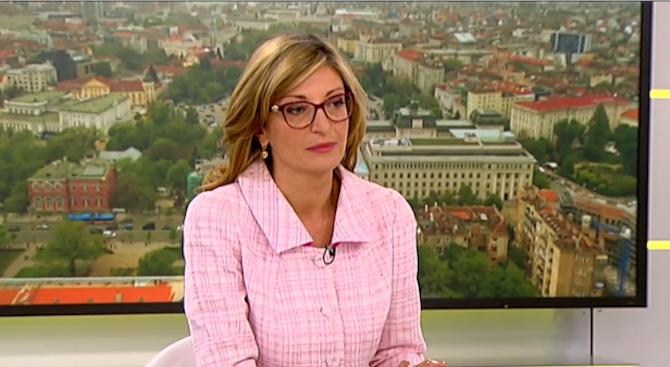 Захариева за поведението на Волен Сидеров по БНТ: Той завладя ефира по недопустим начин