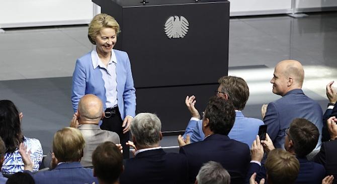 Урсула фон дер Лайен ще нощува в сградата на Еврокомисията
