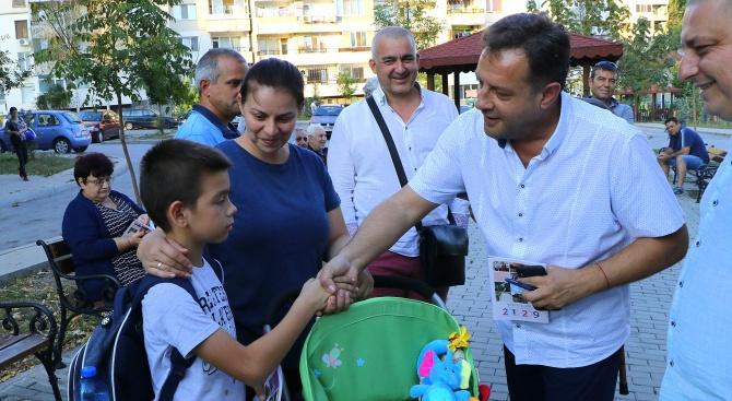 Жители на Велико Търново към Даниел Панов: Искаме победа още на първи тур