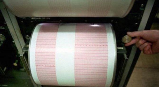 Слабо земетресение в района на Пловдив