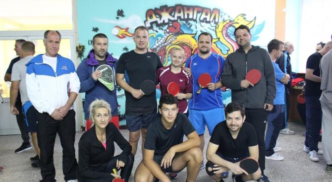 """В Банско се проведе турнир по тенис на маса в клуб """"Джангал"""""""