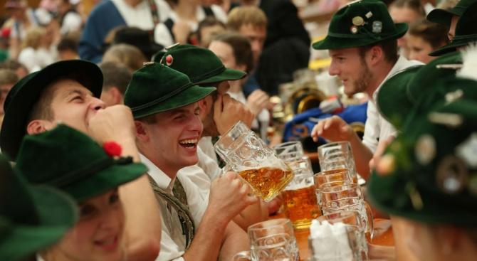 Октоберфест приключи със 7,3 милиона литра изпита бира