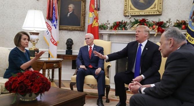 Тръмп обвини председателят на Камарата на представителите Нанси Пелоси в държавна измяна и призова за нейния импийчмънт