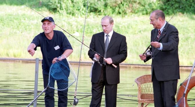 Владимир Путин хвана гората