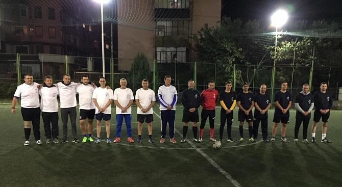 Воден от Станислав Дечев, отборът на ГЕРБ-Хасково спечели футболен мач с 4:3