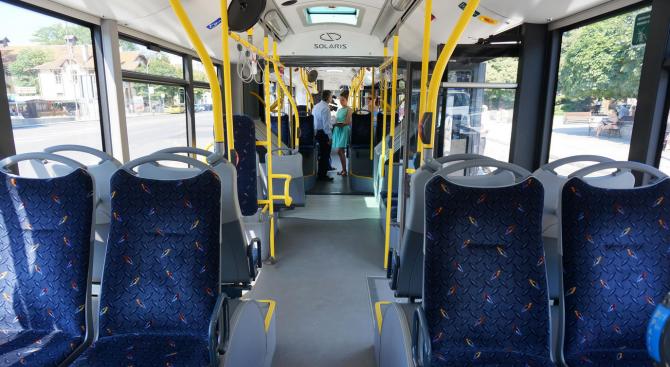 Общо 35 нови електрически автобуса ще бъдат закупени за градския транспорт на Русе