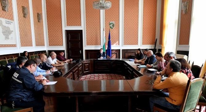 Мерки за повишаване безопасността на движението се предприемат в Сливен