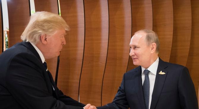 Володимир Зеленски и Доналд Тръмп не са поздравили Владимир Путин с рождения му ден