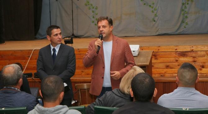 Даниел Панов: Леденик се нуждае от по-бързо развитие, Йордан Морчев е разумният избор за кмет на селото
