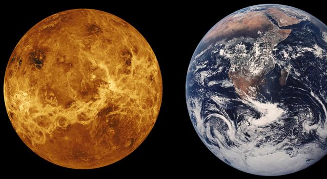 Aстрономи откриха следи от древен океан на Венера