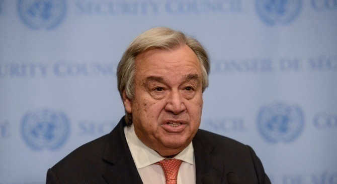 Антониу Гутериш: ООН може да няма пари за заплати следващия месец