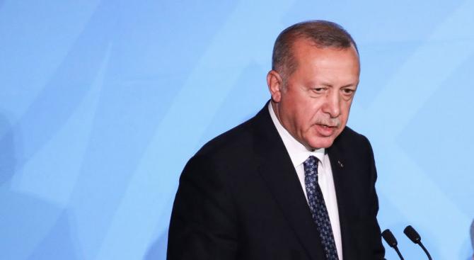 Ердоган: Турция има право да провежда операция в Сирия
