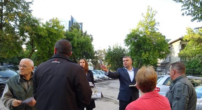 """Кандидат-кметът на район """"Северен"""" в Пловдив Стоян Алексиев: Благоустрояването на междублоковите пространства е сред основните ми приоритети"""
