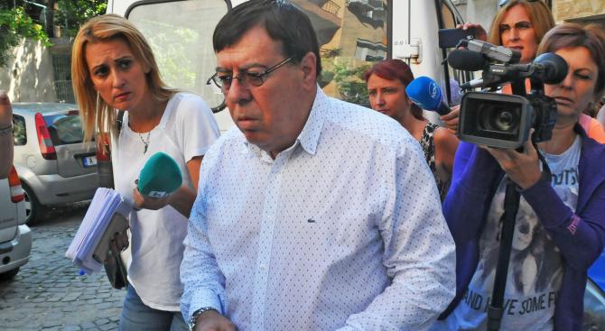 Прокуратурата в Бургас внесе обвинителен акт срещу Бенчо Бенчев