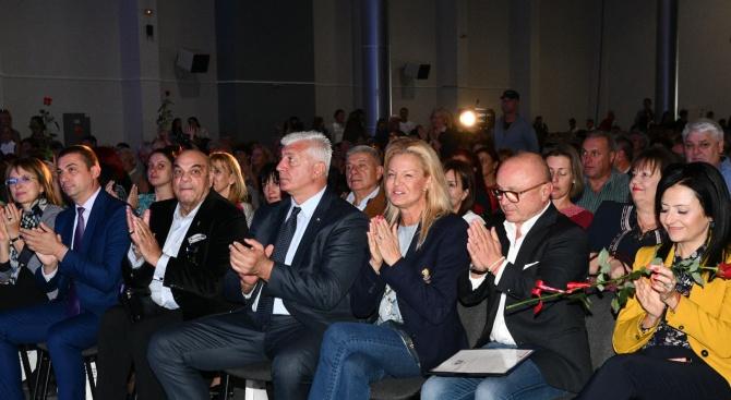 Здравко Димитров на 70-годишнината на спортното училище в Пловдив