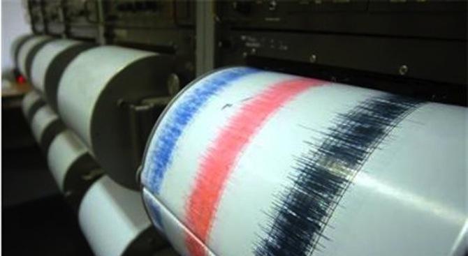 Земетресение в турския град Ялова, усетено и в Истанбул