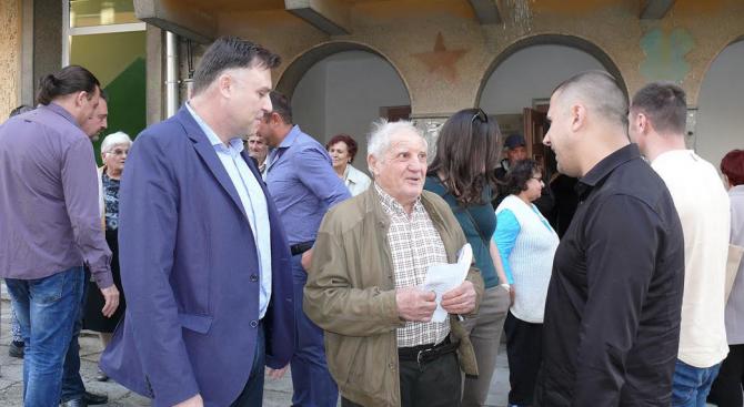 Мирослав Петров, ГЕРБ: Като кмет на Плевен ще гарантирам справедливо разпределение на общинския бюджет към малките населени места