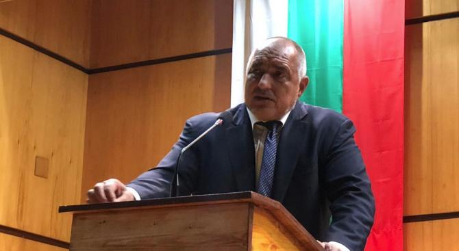 Борисов в Ямбол: Биткaта на тези избори е много тежка