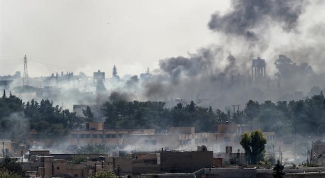 Сирийската армия влезе в северния град Манбидж