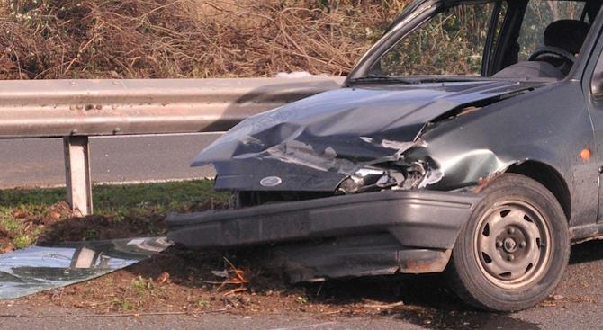 Катастрофа на пътя за с. Алдомировци: Има пострадал