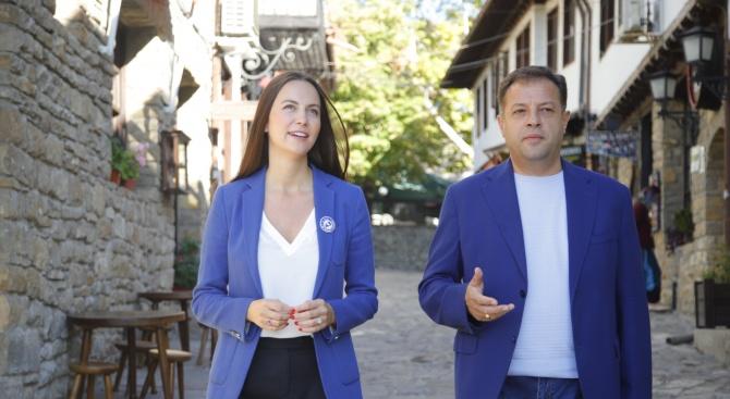 Ева Майдел (ГЕРБ/ЕНП): Даниел Панов е единственият гарант за европейското развитие на Велико Търново