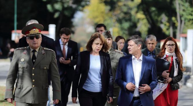 Фандъкова: Изграждаме нов парк и храм-паметник на загиналите български воини в Първата световна война