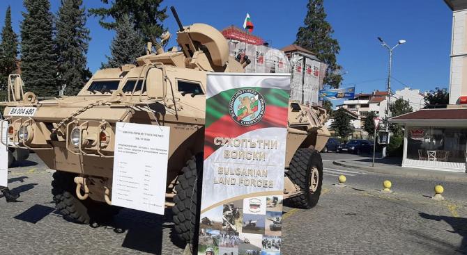 Бригаден генерал Валери Цолов в Гоце Делчев: Тук сме, за да покажем, че българският народ трябва да се гордее със своята армия