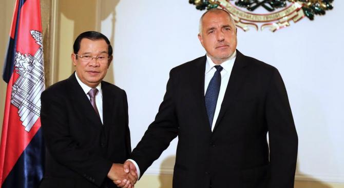 Борисов проведе среща с премиера на Кралство Камбоджа Хун Сен