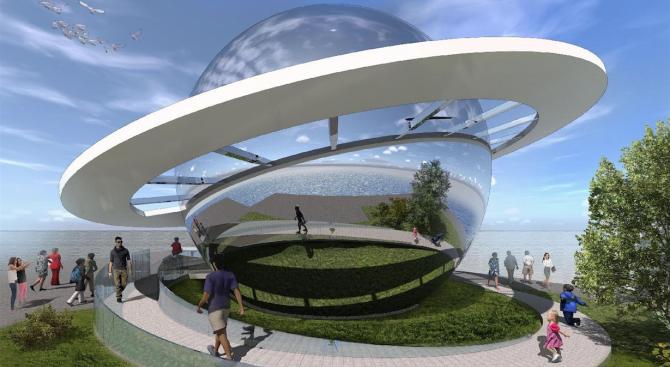 Димитър Николов: Планетариумът до Морската гара ще бъде най-новата емблема на Бургас