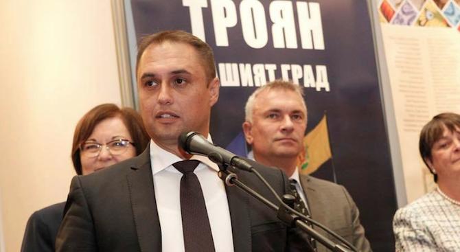 ВМРО подкрепи кандидатът на ГЕРБ Иван Миховски за кмет на община Троян