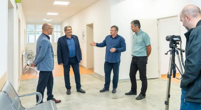 Кандидатът за кмет на Радомир от ГЕРБ Пламен Алексиев: В града ще заработи единствен по рода си център за неотложна помощ