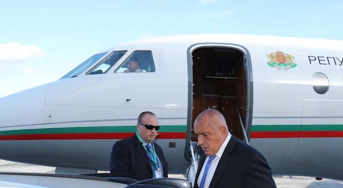 Бойко Борисов пристигна в Брюксел за заседанието на Европейския съвет