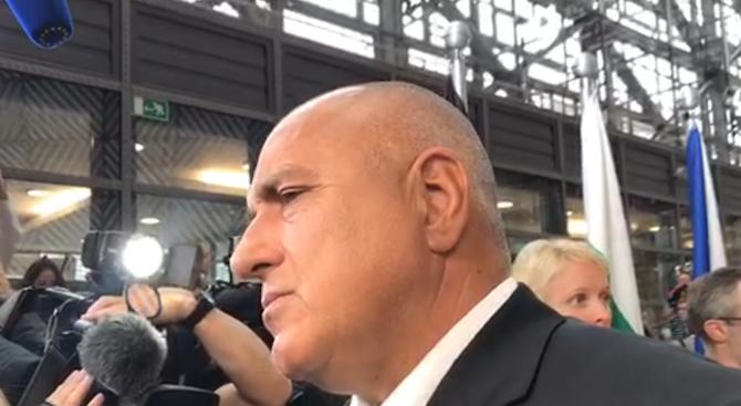 Бойко Борисов: Винаги съм оптимист! Военни действия не мога да подкрепя!