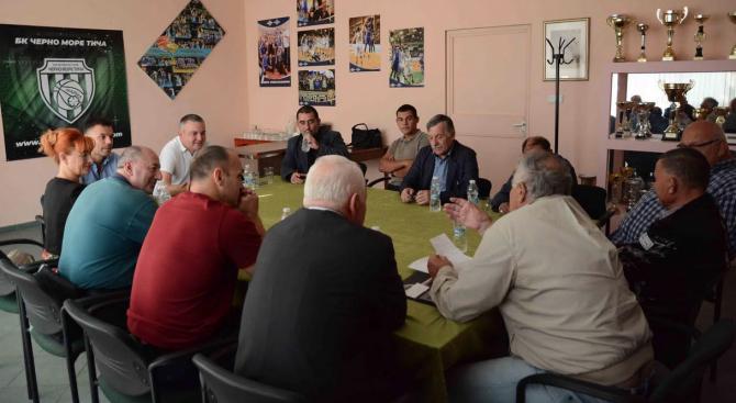 Иван Портних: Ще инвестираме в изграждането на нова база за водни спортове