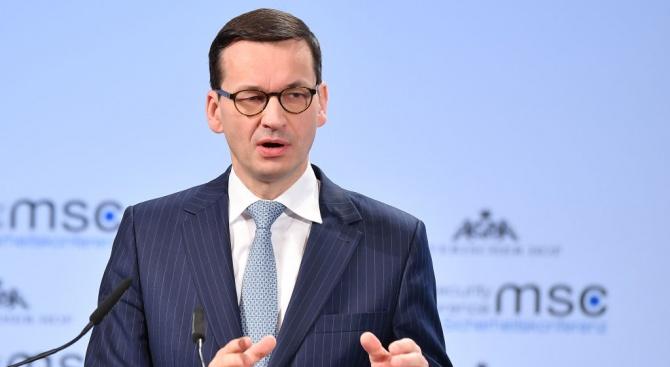 Моравецки: Полша ще настоява ЕС да започне процес на интеграция на Албания и Северна Македония