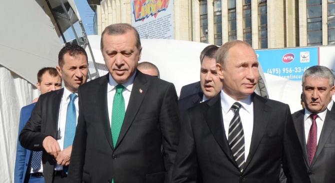 Реджеп Ердоган разкри за какво ще си говори с Владимир Путин в Сочи