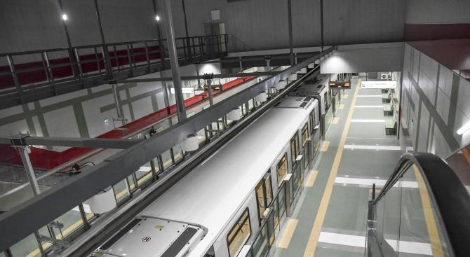Ден на отворените врати в две от метростанциите на новата линия на метрото утре