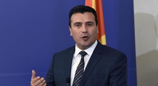 Зоран Заев иска бързо провеждане на предсрочни парламентарни избори