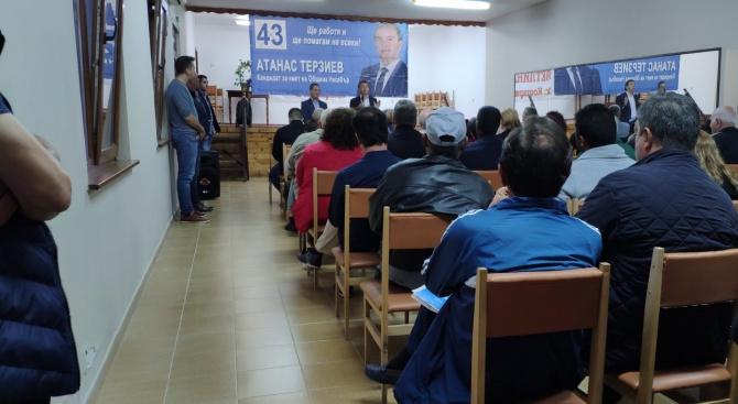 Кандидат-кметът Атанас Терзиев: Безплатни карти за транспорт за учащите могат да се въведат в община Несебър