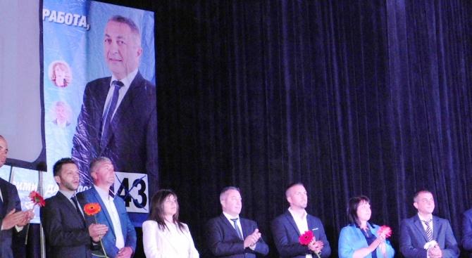 Кандидатът за кмет от ГЕРБ Красимир Даскалов: Само за 4 години променихме облика на Девин