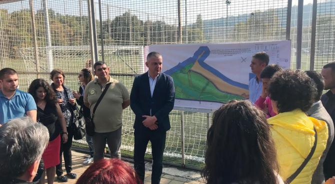 Иван Портних:  Развитието на парка ще даде нов облик на района